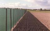 Zichtschermgaas 180 groen met knoopsgaten 50  x 2,00 meter